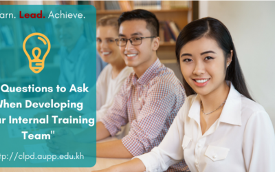 3 Questions to Ask When Developing Your Internal Training Team
